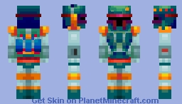 Boba Fett the Infamous Bounty Hunting Extraordinaire Minecraft