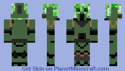 Creeper Space Marine (Sons of Horus) Minecraft Skin