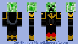 Creeper Space Marine (Yellow Jackets) Minecraft Skin