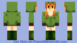 [Mobtalker series #1] Creeper Minecraft Skin