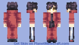 Kuroo Tetsurou (Sweatpants) ~ Haikyuu! Minecraft Skin