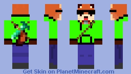 Pimped Up Woodchuck Minecraft Skin