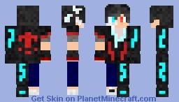 Cyborg Human Hybrid - Male Version Minecraft Skin