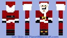 santa Minecraft Skin