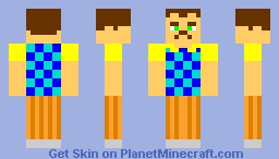 the neighbor Minecraft Skin
