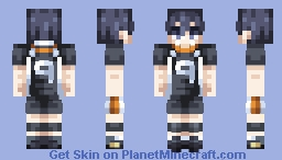 Kageyama Tobio (Volleyball Uniform) ~ Haikyuu! Minecraft Skin