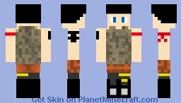 Fortnite 3 Minecraft Skin