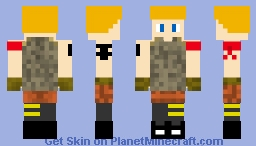 Fortnite 4 Minecraft Skin