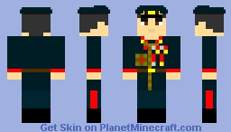 soviet red army marshal Georgy Zhukov 1941-1959 Minecraft Skin