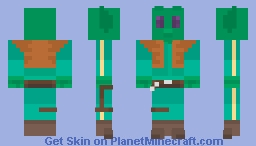 greedo (star wars) Minecraft Skin