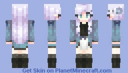 Lovely - ST with Chabilulu Minecraft Skin