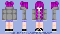 ~Rin~ Akiko Fukawa Minecraft Skin
