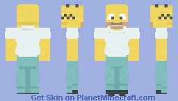 Homer Simpson | The Simpsons Minecraft Skin