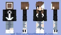 Anchors away 🐳 Minecraft Skin