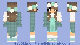 Seafoam flowers 🐢 Minecraft