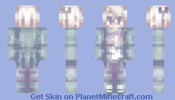I'm fine. (Shading test and Contest submission) // Moridis Minecraft Skin