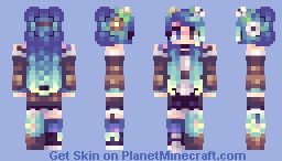 venus ✪ blue Minecraft Skin