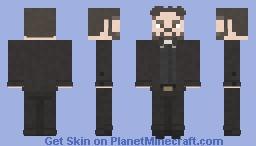 Jesse Custer / Preacher | Preacher | Pilot Minecraft Skin