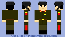 soviet red army motorcycle trooper 1941-1959 Minecraft Skin