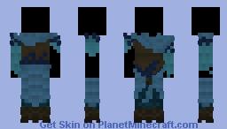 {LotC Commission} Blue clothing Minecraft Skin