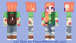 stardew valley - leah Minecraft Skin