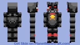 L.E.F.T.E / Lefty REMASTER | FNaF 6 Minecraft