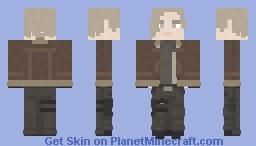 Leon S. Kennedy | Resident Evil 4 Minecraft Skin