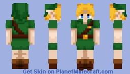 Link (Majora's Mask) Minecraft Skin