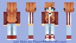 Max Mayfield - Stranger Things series Minecraft Skin