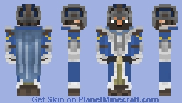 Medievalman Helmet & Gloves Style - Request Minecraft Skin