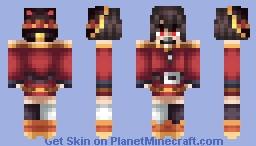 EXPLOSION!!! - My Megumin Skin Minecraft Skin