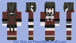 DRV3 - Maki Harukawa - Skin Trade with Your Local Fish Nerd Minecraft Skin