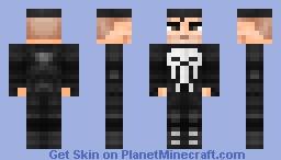 The Punisher (Netflix) Minecraft Skin