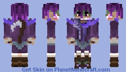 Nix Brawhalla - Request Minecraft Skin