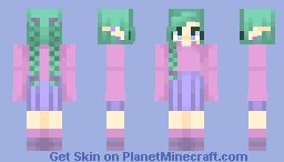~ Nothing but sky and this strong battle cry ~ Minecraft Skin