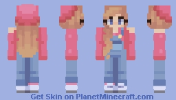 🎀 Overall cutie 🎀 {ALT VERSION: DESC} Minecraft Skin