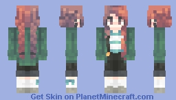 Relieved Minecraft Skin