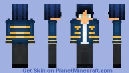 Restless Sea Minecraft Skin