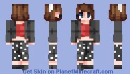 "⊗ [Chabilulu] ⊗ ""Running in the 50's !"" Collab with VieTheBee ⊗ Minecraft Skin"