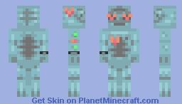 lovesick robot Minecraft Skin