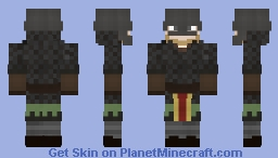 This poor Viking Warrior Minecraft Skin