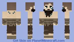 A Poor Berserker Minecraft Skin