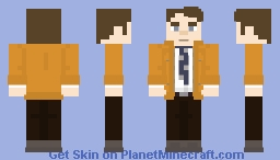 Samuel Barnett (Dirk Gently AGAIN) Minecraft Skin