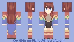 scarlet Minecraft Skin