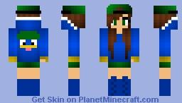 Lotad Fangirl Minecraft Skin