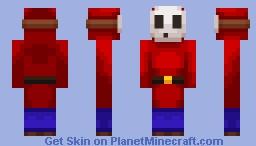 Shy Guy (Super Mario Mash-Up Pack Version) Minecraft Skin