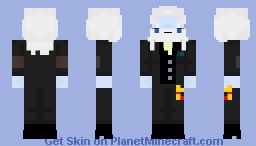 Simon Petrikov (Post-War) - Adventure Time Minecraft Skin