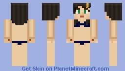 Female Jesse in a Bikini Minecraft Skin