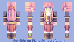 A thing Minecraft Skin