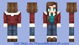 Nancy Wheeler Minecraft Skin